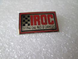 PIN'S   IROC  INTERNATIONAL  RACE  OF  CHAMPIONS   Email Grand Feu - Pin's