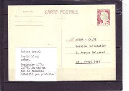 Marianne De DECARIS - Carton Blanc Crème - Repiquage ASTRA Avec Bon De Commande - - 1960 Maríanne De Decaris