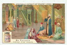 Chromo LIEBIG - En Turquie - Intérieur D'une Mosquée - Liebig