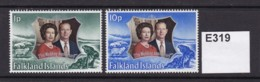 Falkland Islands 1972 Silver Wedding Anniversary - Falkland Islands