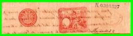 DOCUMENTO CON SELLO 12º AS-DEL AÑO 1894 CON VALOR DE 0,55 CENTIMOS DE PESO DE LA FABRICA DE TIMBRE - Historische Dokumente