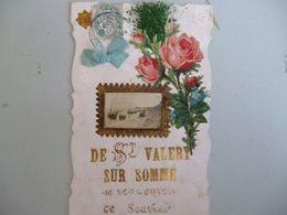 Saint Valery Sur Somme   Je Vous Envoie Ce Souvenir - Saint Valery Sur Somme