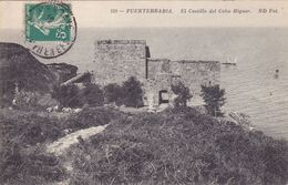 CPA ESPAGNE @ Fontarrabie Hondarribia Et Le Cabo Higuer - El Castillo  - Pays Basque - Espagne