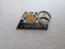 RARE PIN'S   MERCEDES  TEAM  GRENOBLE - Mercedes