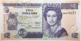 Belize - 2 Dollars - 2014 - PICK 66e - NEUF - Belize