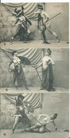 NUS FEMININS - LES JEUX DU CIRQUE - Série De 6 Cartes Postales ( En Parfait état) - Belleza Feminina (1941-1960)