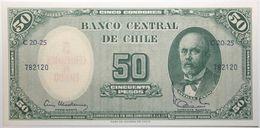 Chili - 5 Centesimos - 1960 - PICK 126b.1 - NEUF - Cile