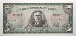 Chili - 50 Escudos - 1970 - PICK 140b.1 - NEUF - Cile