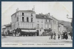 SAINT GIRONS - Place Et Boulevard Frédéric Arnaud - Saint Girons