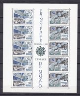 Europa-CEPT - Monaco - 1991 - Michel Nr. Block 50 - Postfrisch - 25 Euro - 1991