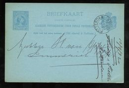 Privé-reclame HUDIG & PIETERS GREAT EASTERN RAILWAY Rotterdam 1892 > Emmerich Deutschland (GM-46) - Periodo 1891 – 1948 (Wilhelmina)