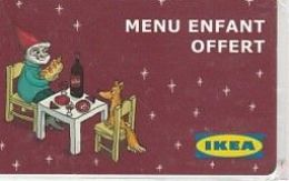 Ikea Menu Offert - France