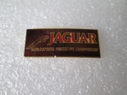 RARE PIN'S   JAGUAR    WORLD  SPORTS  PROTOTYPE CHAMPIONSHIP   Email Grand Feu - Jaguar