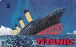 Denmark, P 209B, Titanic, Ship, Mint, Only 1300 Issued, 2 Scans. - Danemark