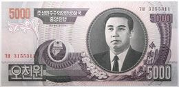 Corée Du Nord - 5000 Won - 2006 - PICK 46c - NEUF - Corée Du Nord