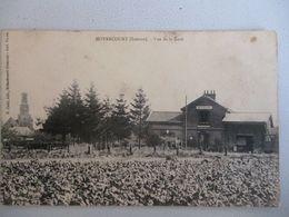 Moyencourt  Vue De La Gare - Autres Communes