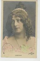 FEMMES - FRAU - LADY - SPECTACLE - ARTISTES 1900 - Jolie Carte Fantaisie Portrait Artiste LABATOUX Par Photographe NADAR - Femmes
