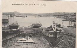 Leucate - L'étang Pris Du Mourral De La Ville - Leucate