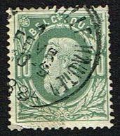 COB 30   Cachet Simple Cercle CHARLEROI (VILLE HAUTE) 1884 - 1869-1883 Leopold II