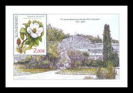 Slovakia 2020 Mih. 905 (Bl.55) Flora. Flowers. Southern Magnolia MNH ** - Slovakia