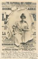 CARTE 1902 THEATRE NATIONAL DE L'ODEON - Entertainers
