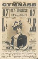 CARTE 1902 THEATRE DU GYMNASE - Entertainers