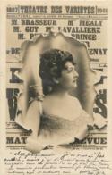 CARTE 1902 THEATRE DES VARIETES - Entertainers