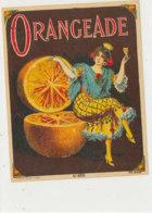 AN 1053 / ETIQUETTE  -ORANGEADE N° 650 - Frutta E Verdura