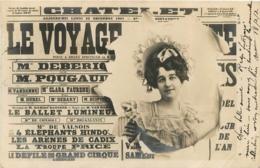 CARTE 1902 LE CHATELET - Entertainers