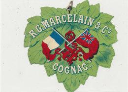 AN 1061 / ETIQUETTE   R  G.  MARCELAIN  COGNAC - Unclassified