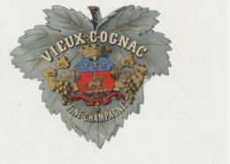 AN 1062 / ETIQUETTE   - VIEUX   COGNAC FINE CHAMPAGNE - Etichette