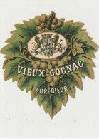 AN 1063 / ETIQUETTE   - VIEUX   COGNAC SUPERIEUR - Unclassified