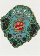 AN 1066 / ETIQUETTE   -  CASSIS  SUPERIEURE  DIJON  N° 379 - Etichette