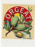 AN 1083 / ETIQUETTE   -   ORGEAT  PUR SUCRE  N° 471 - Fruit En Groenten