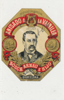 AN 1085 / ETIQUETTE   -  ANISADO  A  LA VAINILLA   BOSCH ARNAU  E HIJO  BARCELONA - Labels