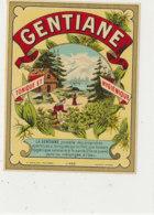 AN 1087/ ETIQUETTE   -   GENTIANE   N° 433 - Labels