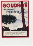 AN 1088/ ETIQUETTE   -    GOUDRON  TONIQUE HYGIENIQUE   N° 574 - Labels