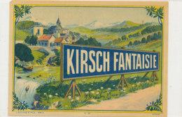 AN 1090 / ETIQUETTE   -  KIRSCH FANTAISIE    N° 32 - Labels