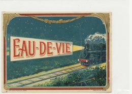 AN 1092 / ETIQUETTE   -   EAU DE VIE   N° 99 - Labels