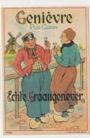 AN 1094 / ETIQUETTE   -  GENIEVRE  PUR GRAIN  ECHTE GRAANGENEVER - Labels