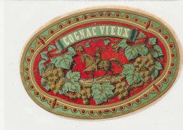 AN 1096 / ETIQUETTE   -   COGNAC VIEUX - Labels