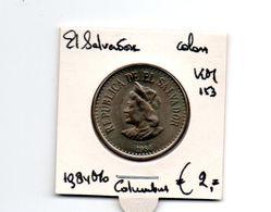 EL SALVADOR COLON 1984 Mo COLUMBUS - El Salvador