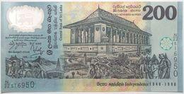 Sri Lanka - 200 Roupies - 1998 - PICK 114b - NEUF - Sri Lanka