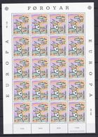 Europa-CEPT - Dänemark - Färöer - 1986 - Michel Nr. 135 -  Klb. - Postfrisch - 30 Euro - Europa-CEPT