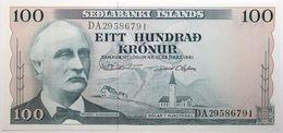 Islande - 100 Kronur - 1961 - PICK 44a.11 - NEUF - Islandia