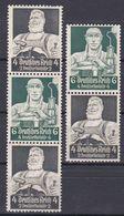 Deutsches Reich - Zusammendrucke Mi.Nr. S220 - S221 - Postfrisch MNH - Se-Tenant