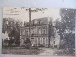 Aigneville  Le Chateau De M. Haudrechy De Guillebon - Autres Communes