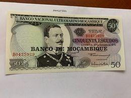 Mozambique 50 Escudos Banknote 1970 #2 - Mozambique