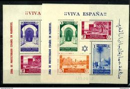 MARRUECOS *167/8 En Nuevo Con Charnela. Cat.46 € - Spanish Morocco