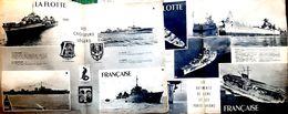 MARINE NATIONALE 3 REVUES SUR LA MARINE NATIONALE  EN 1945 NOMBREUSES PHOTOS ET DOCUMENTS - Revues & Journaux
